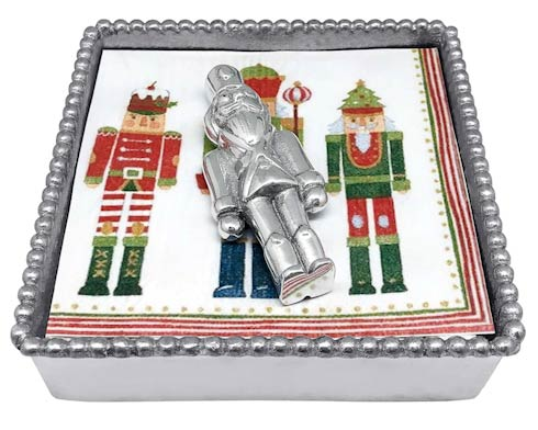 Nutcracker Beaded Napkin Box image