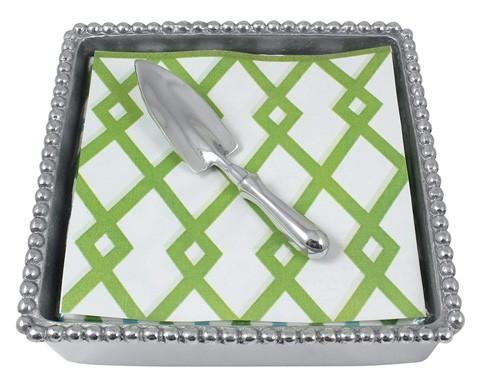 $33.60 Trowel Beaded Napkin Box