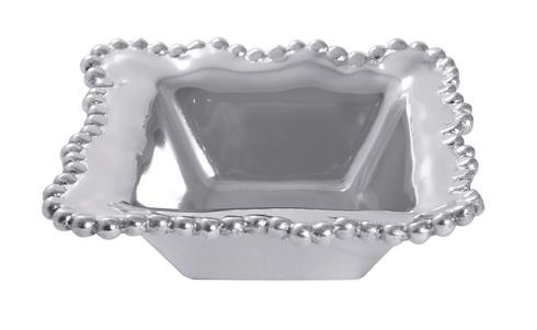 Mariposa Nut and Sauce Dishes String of Pearls Pearled Wavy Condiment Bowl $36.00