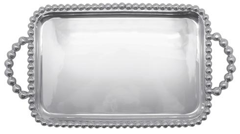 $98.00 Pearled Medium Service Tray