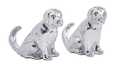 Mariposa Table Accessories Woof Woof Labrador Salt & Pepper Set $52.00