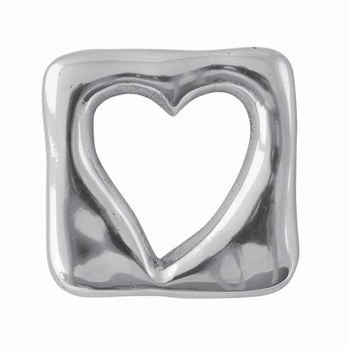$14.00 Open Heart Napkin Weight