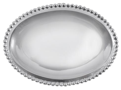 $29.00 Beaded Oval Statement Tray