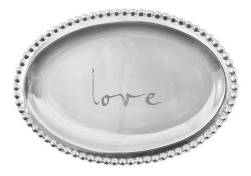$39.00 Love Small Oval Tray