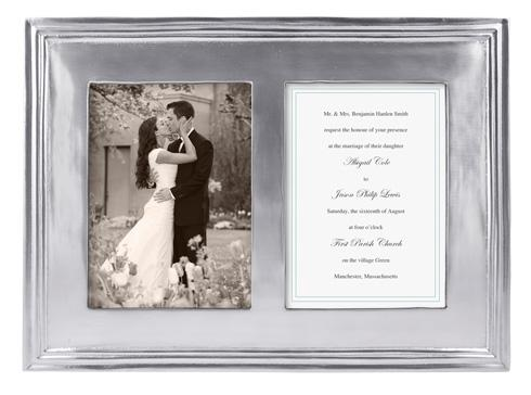 $134.00 Classic 5 X 7 Double Frame