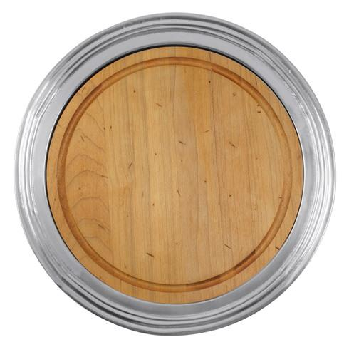 Mariposa Serving Trays and More Classic Classic Round Cheese Board, $139.00