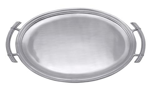 Mariposa Serving Trays and More Classic Classic Oval Service Tray $129.00