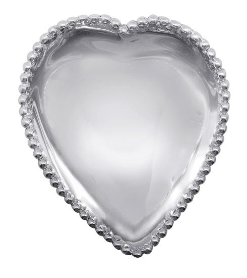 $32.00 Beaded Heart Bowl