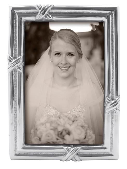 Mariposa Photo Frames Decorative Frames Love Knot 4X6 Frame $59.00