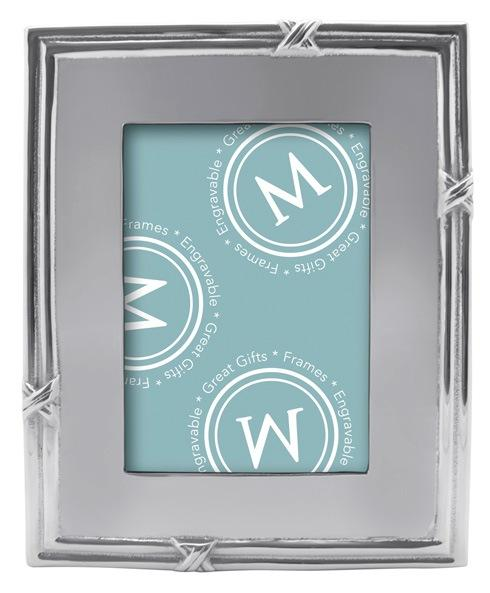 Mariposa Photo Frames Decorative Frames Love Knot 5X7 Engravable Frame $79.00
