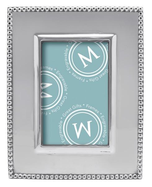 Mariposa Photo Frames Decorative Frames Beaded Classic 4X6 Frame $79.00
