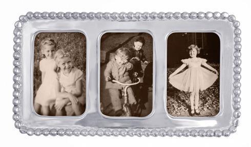 Mariposa  Beaded Beaded 2 X 3 Collage Frame $42.00