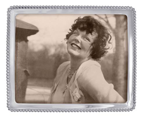 Mariposa Photo Frames String of Pearls Beaded 8 X 10 Frame $79.00