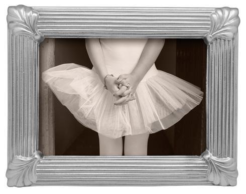 Mariposa Photo Frames Decorative Frames Linear Leaf 5X7 Frame $79.00