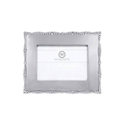 $74.00 Pearl Drop 5x7 Engravable Frame
