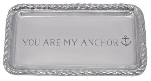 $27.30 You Are My Anchor  Rope Tray