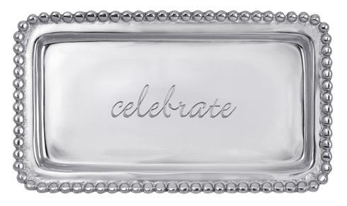 $39.00 Celebrate Beaded Tray
