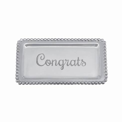 $27.30 CONGRATS Beaded Statement Tray