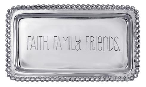$39.00 Faith.Family.Friends. Beaded