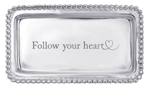 $39.00 Follow Your Heart Statement Tray