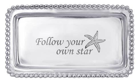 $39.00 Follow Your Own Star Statement Tray