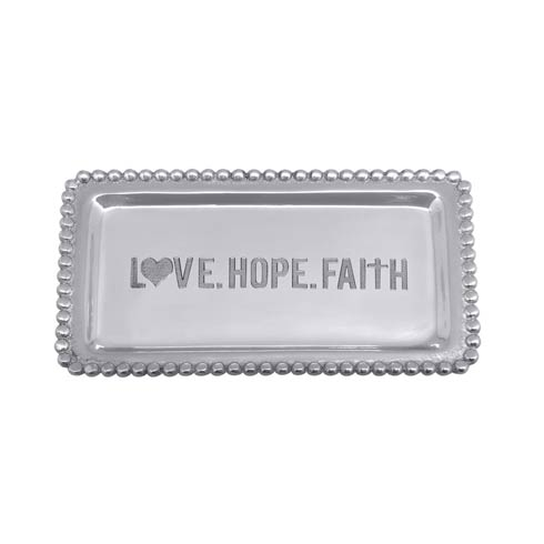 $27.30 LOVE.HOPE.FAITH Statement Tray