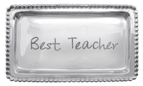 $27.30 Best Teacher Beaded Tray