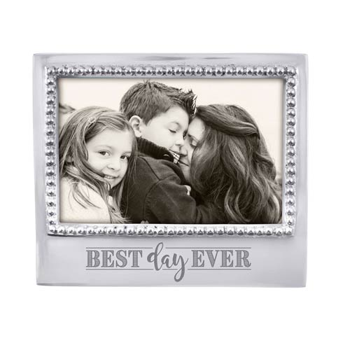 $49.00 BEST DAY EVER Beaded 4x6 Statement Frame