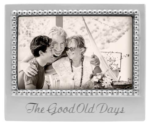 $49.00 THE GOOD OLD DAYS Beaded 4x6 Statement Frame