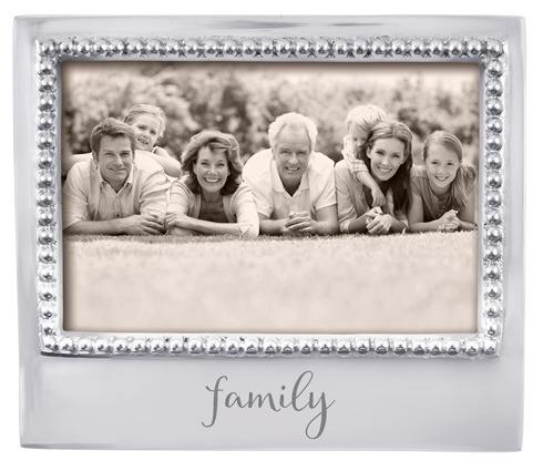 $49.00 Family Beaded 4X6 Frame