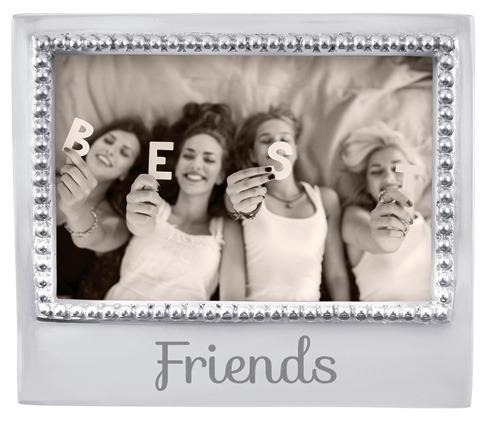 $49.00 Friends Beaded 4X6 Frame