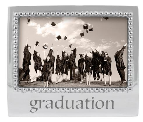 Graduation Beaded 4X6 Frame image