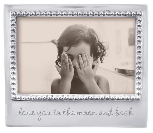 Mariposa  Engraved Statements Love You To The Moon And Back $49.00