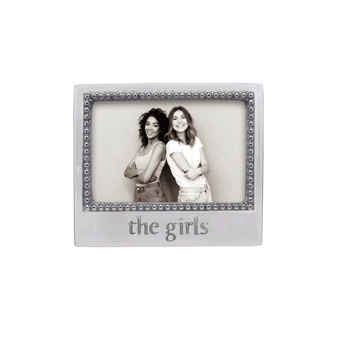 $49.00 THE GIRLS Beaded 4x6 Frame