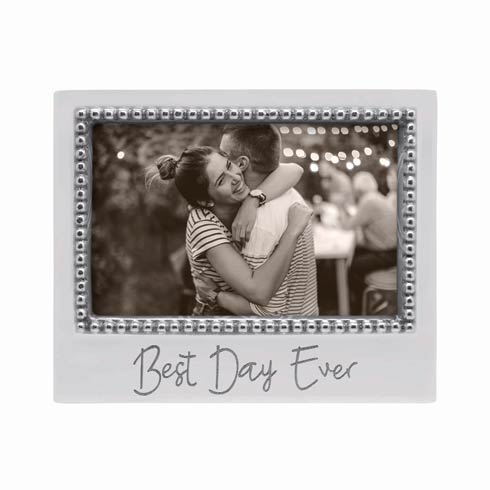 $34.30 BEST DAY EVER Beaded 4 x 6 Frame