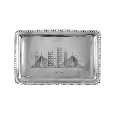 $54.00 BOSTON Beaded Buffet Tray