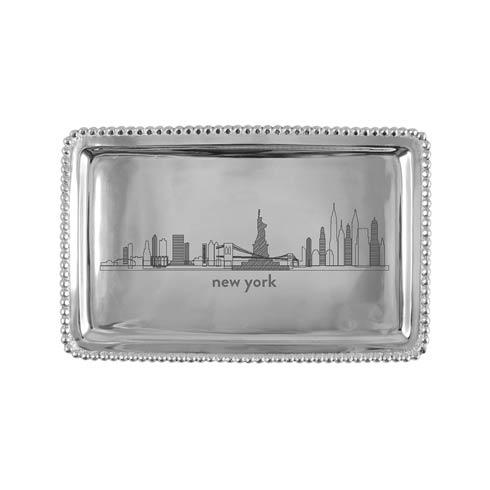 $54.00 NEW YORK Beaded Tray