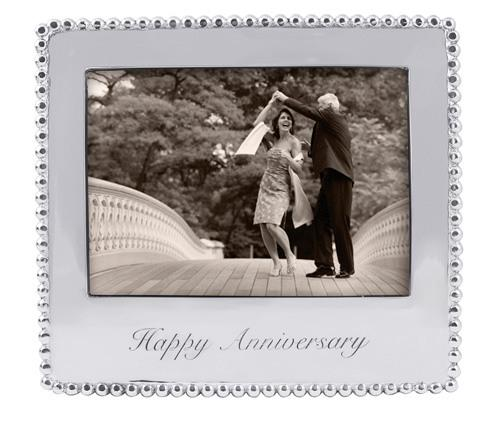 $69.00 Happy Anniversary  Beaded 5X7