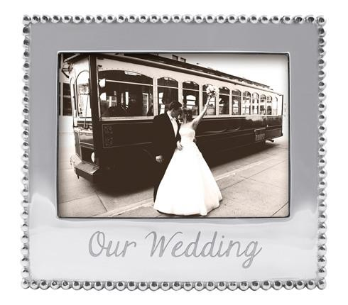 $69.00 Our Wedding Beaded 5X7 Frame