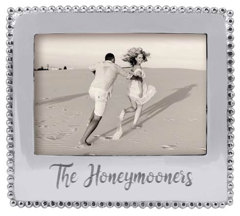 THE HONEYMOONERS Beaded 5x7  Statement Frame