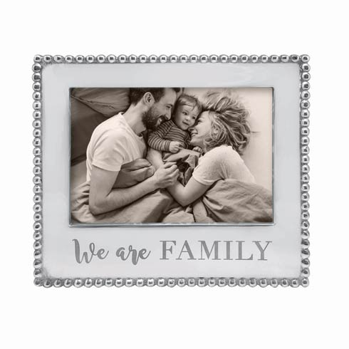 $69.00 WE ARE FAMILY Beaded 5 x 7 Frame