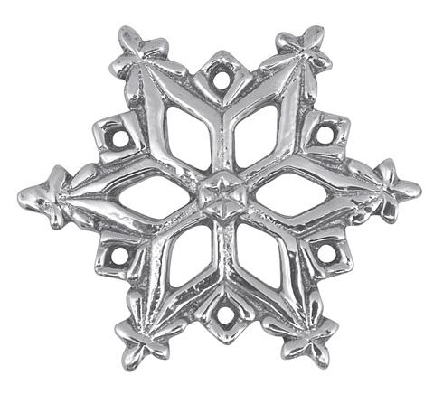Mariposa Napkin Boxes and Weights Traditions Open Snowflake Napkin Weight $14.00