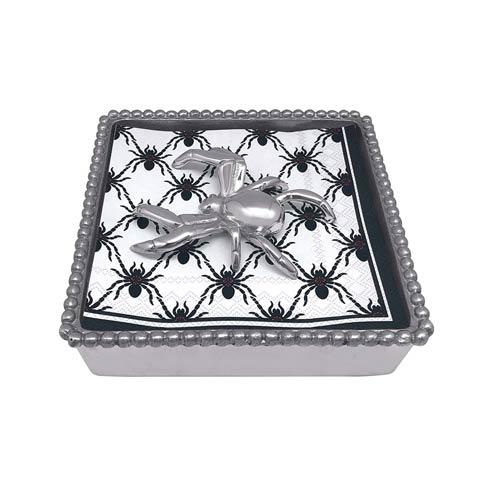 $49.00 Spider Beaded Napkin Box