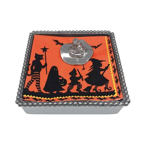 $49.00 Witch Hat Beaded Napkin Box