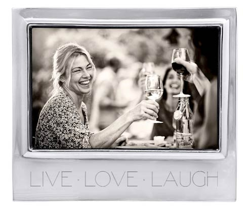 $49.00 LIVE LOVE LAUGH Signature 4x6 Statement Frame