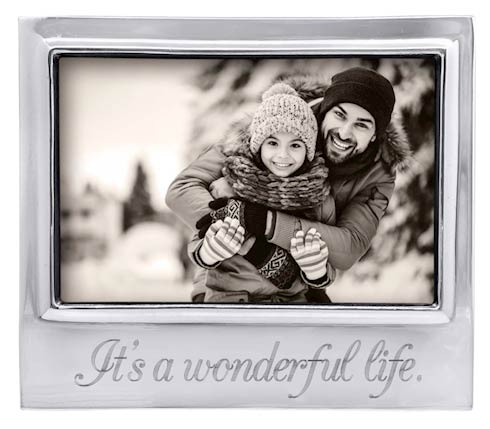 $49.00 IT\'S A WONDERFUL LIFE Signature 4x6 Frame