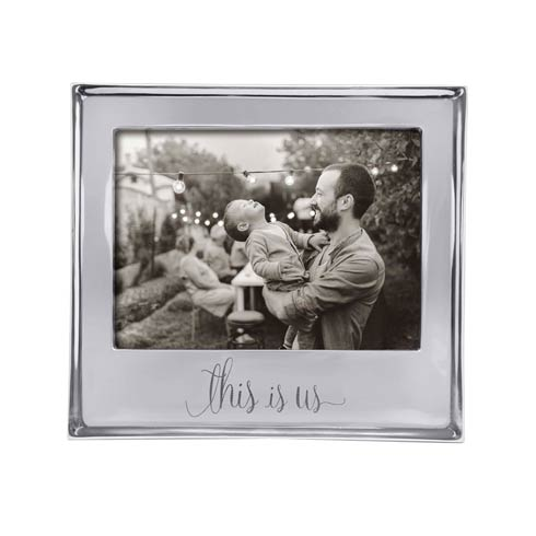 Mariposa Frames Engraved Statements This Is Us 5x7 Frame $69.00