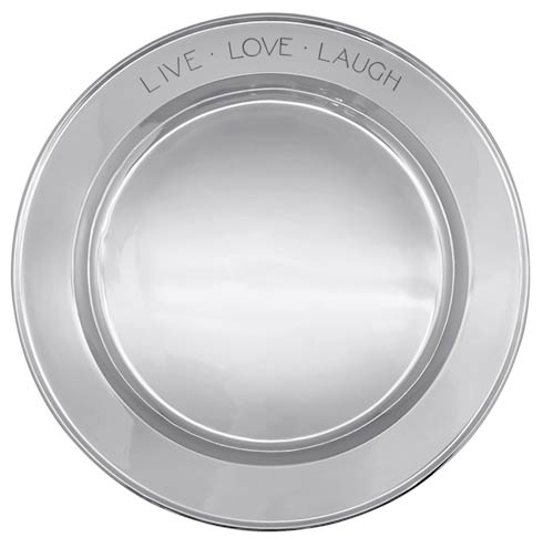 $195.00 Live Love Laugh Signature Platter