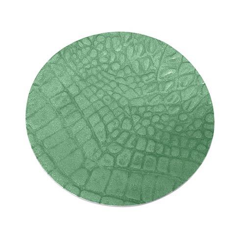 $42.00 Green Wine Plate