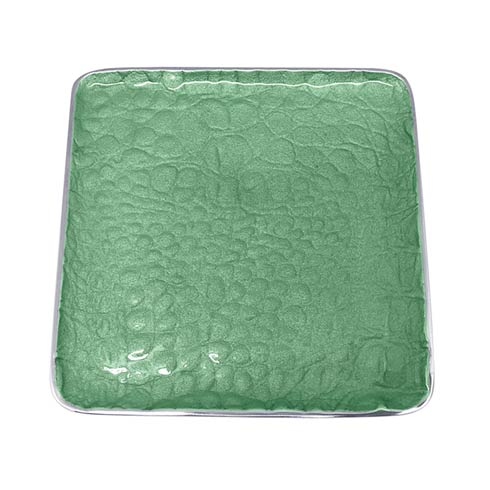 $49.00 Green Small Square Plate